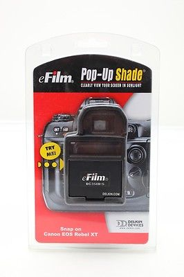 Delkin E-Film DC350d-S Pop-Up Shade/Eye-cup Canon Rebel XT/350D Digital Camera