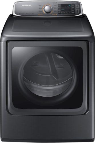NEW Samsung 9.5 Cu. Ft. 15 - Cycle Steam Gas Dryer - Platinum DV56H9000GP