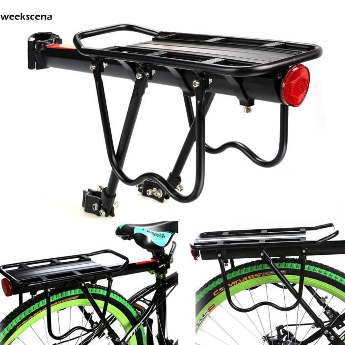 Bike Rear Rack 50kg Capacity Alloy Bike Bicycle Seat Post Cargo Racks Portable*
