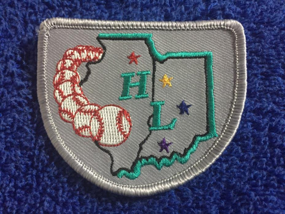1996 Heartland League Defunct Baseball Minor League Unused Jersey Patch