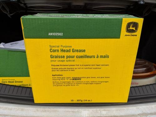 Case of 10 John Deere Corn Head Grease