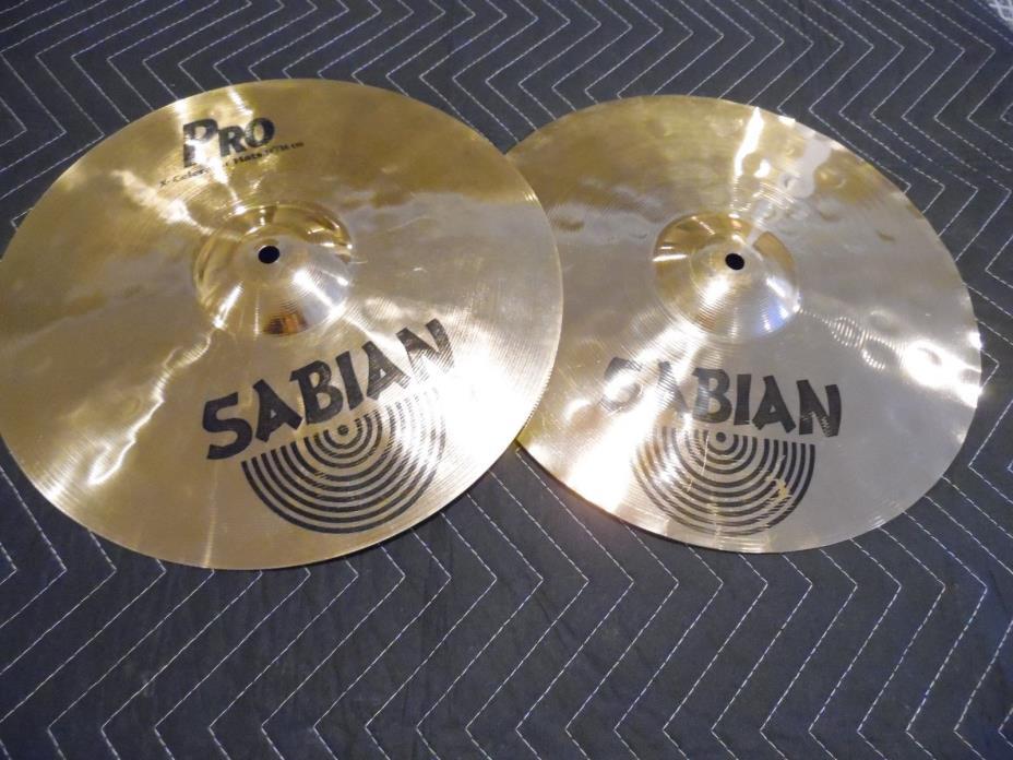 Sabian 14'' X-Celerator PRO Hi-hat Cymbals Sound Great!