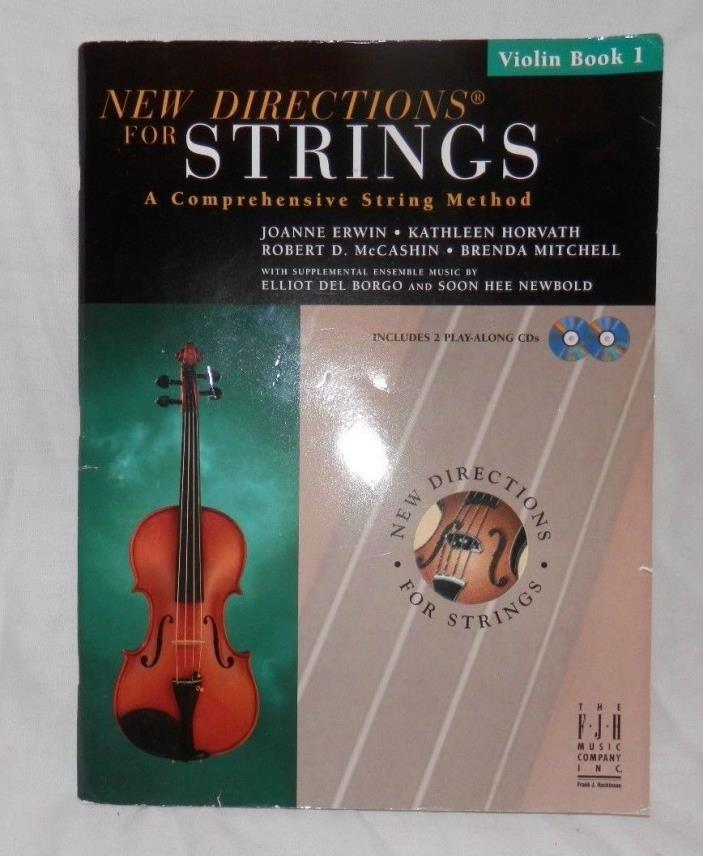 New Directions for Strings (Violin Book I) w/ CD