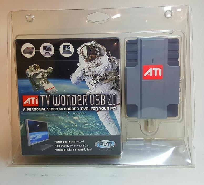 ATI Technologies Wonder USB 2.0 TV Tuner / Video Input Adapter.Personal.Recorder