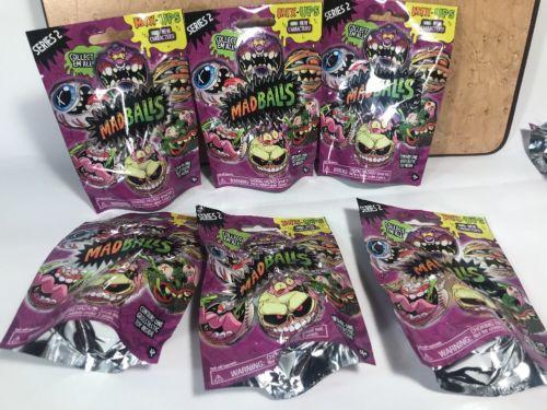 Madballs Series 2 blind bags lot of 6 nib Sealed mix ups mini just play