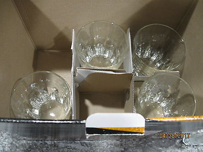 Winchester Crystal Cut Glassware 5 Piece Decanter Set