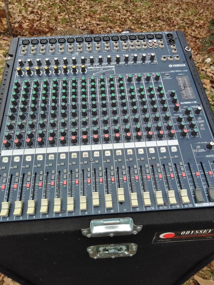 Yamaha MG206C 20 Channel Mixer
