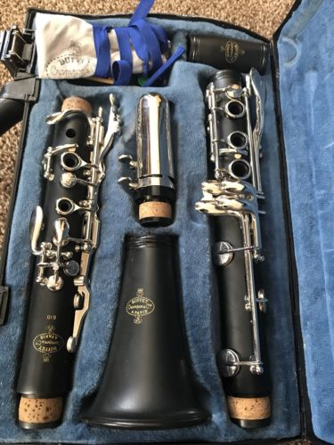 Buffet Crampon & Cie A Paris B10 Clarinet With Original Case FREE SHIPPING