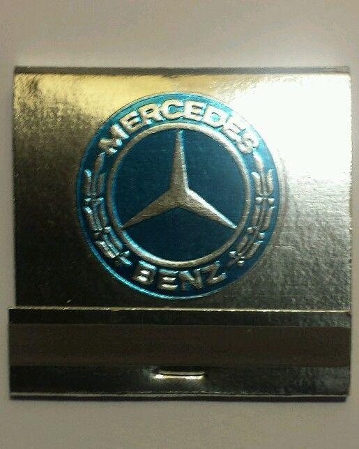 Vintage Mercedes Benz/Rolls Royce Matchbook Auto Advertising Philadelphia MINT!
