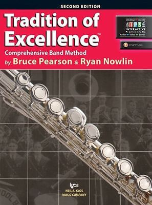 TRADITION OF EXCELLENCE FLUTE BOOK 1 W/ONLINE INTERACTIVE    W61FL - BRAND NEW