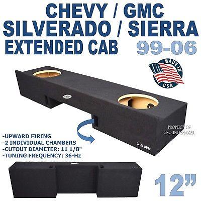 CHEVY SILVERADO SUB BOX & GMC SIERRA EXTENDED CAB 12