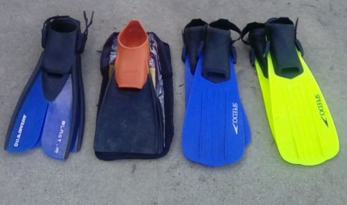 Swim Fins for Kids- Diving Fins - Snorkeling Gear - Snorkeling, Diving, Swimming