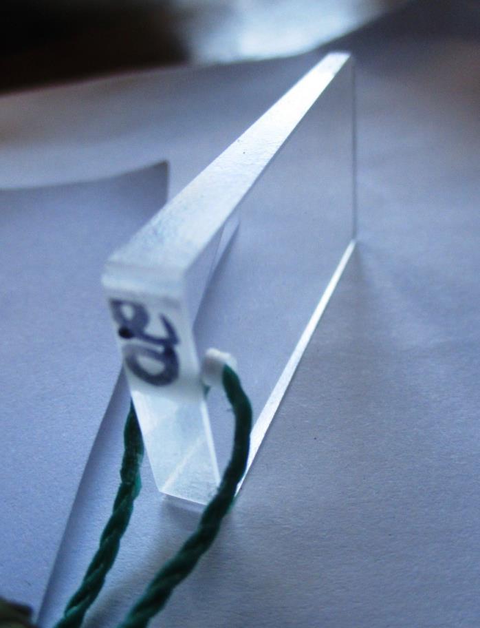 20 BAF Clear English Cruise Master Rectangular Shape Prism