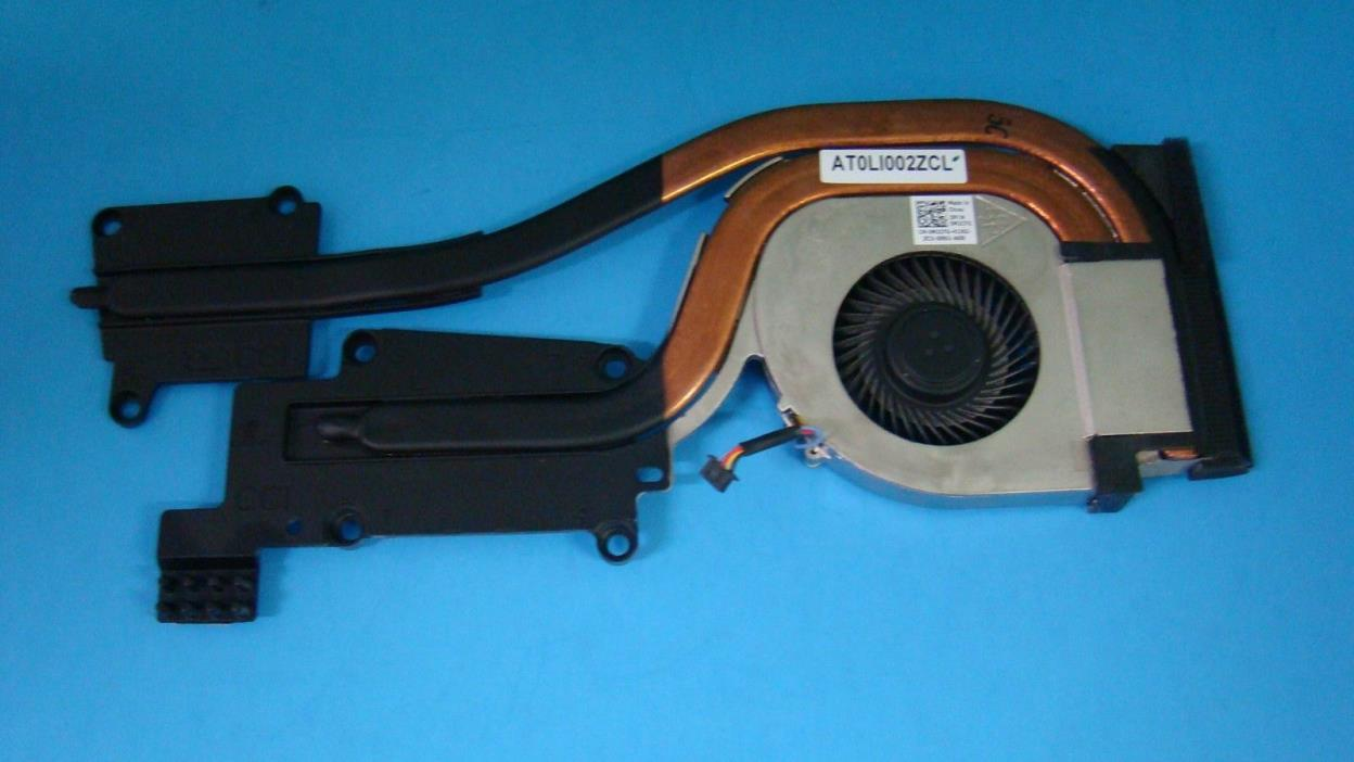 GENUINE Dell Latitude E6530 CPU Heatsink w/Cooling Fan M2CFG