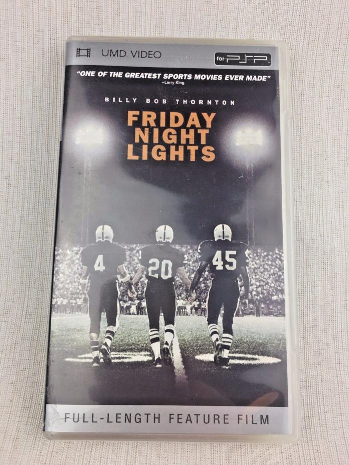 Friday Night Lights Sony PSP UMD Movie Video