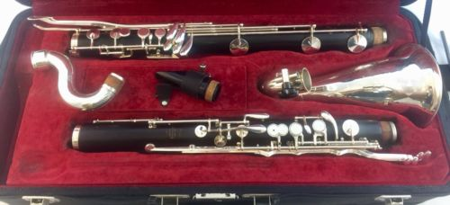 Used Buffet  1180 Bb  Grenadilla Bass Clarinet