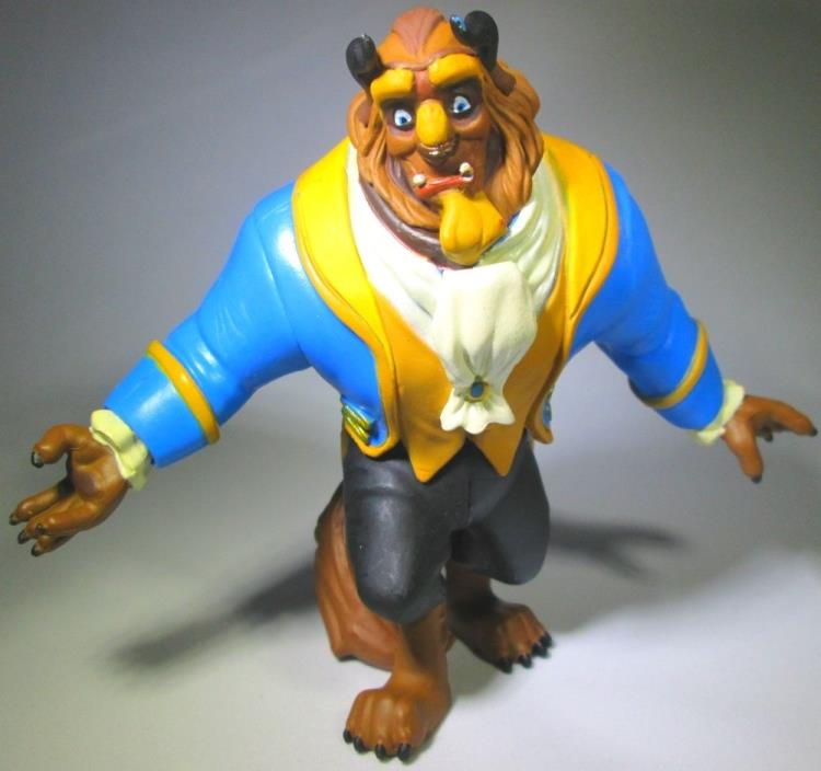 BEAST Walt Disney BEAUTY AND THE BEAST Movie PVC TOY Figure CAKE TOPPER FIGURINE