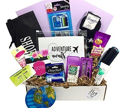 Thinking of You Graduation Honeymoon Congratulations Travel Gift Basket Box for