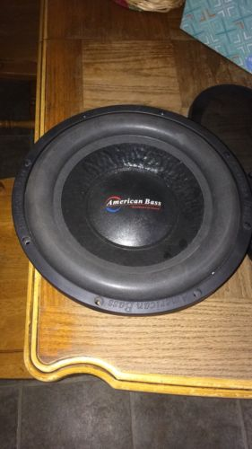 American Bass DX 12 Subwoofer