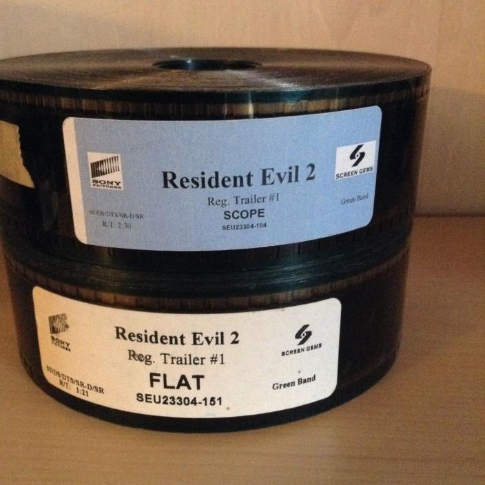 Resident Evil 2 35mm Trailer Movie Film