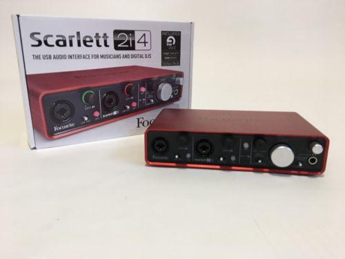 Focusrite Scarlett 2i4 Digital Recording Interface