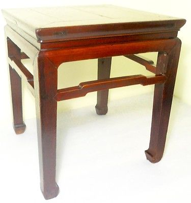 Antique Chinese Ming Meditation Bench (2693), Circa 1800-1849