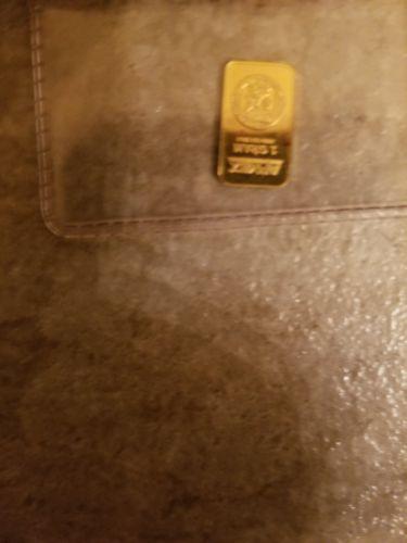 1 gram gold bar
