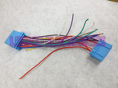 Metra Keyless Entry Retention Stereo Wire T Harness for 1996-1998 Honda Civic