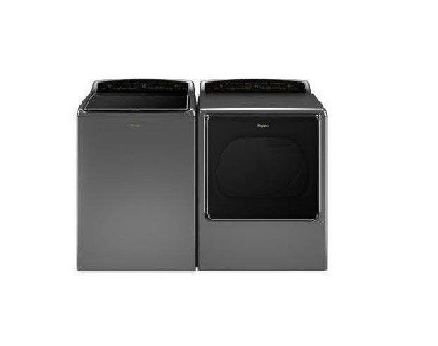 8.8cu.ft Gas Dryer/5.3cu.ft Washer Pair WGD8700EC/WTW8700EC HOT DEAL MUST SEE
