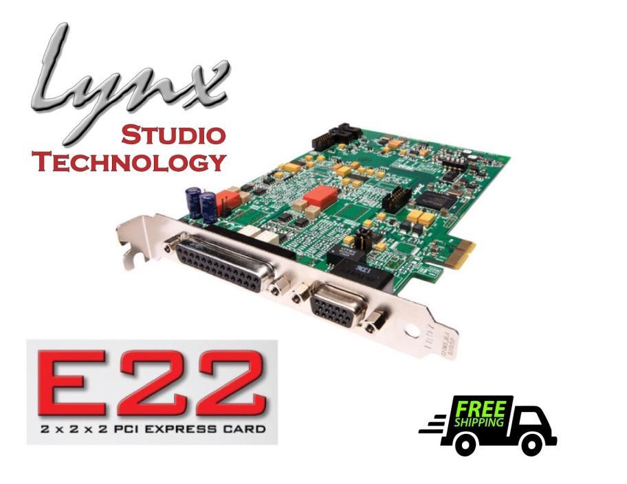 Lynx Studio E22 PCI Express 24-Bit 192 kHzAudio Interface
