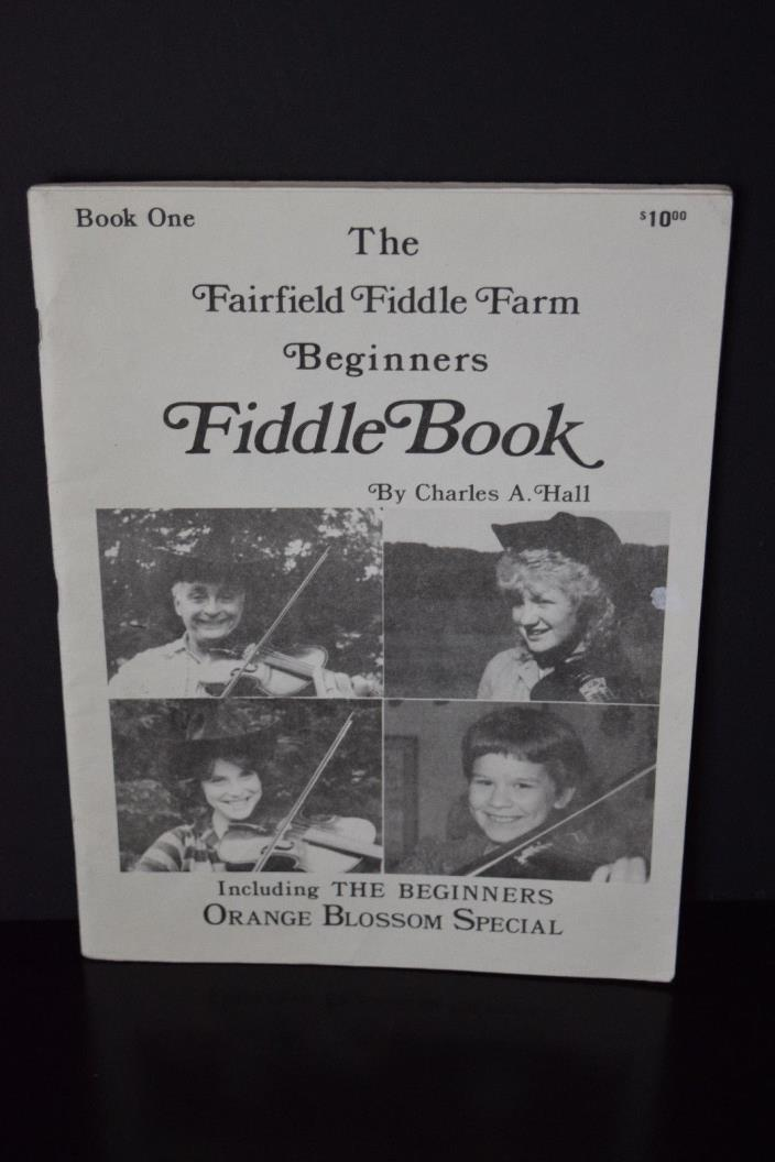 The Fairfield Fiddle Farm Beginners Fiddle Book Book One Sheet Music 1981