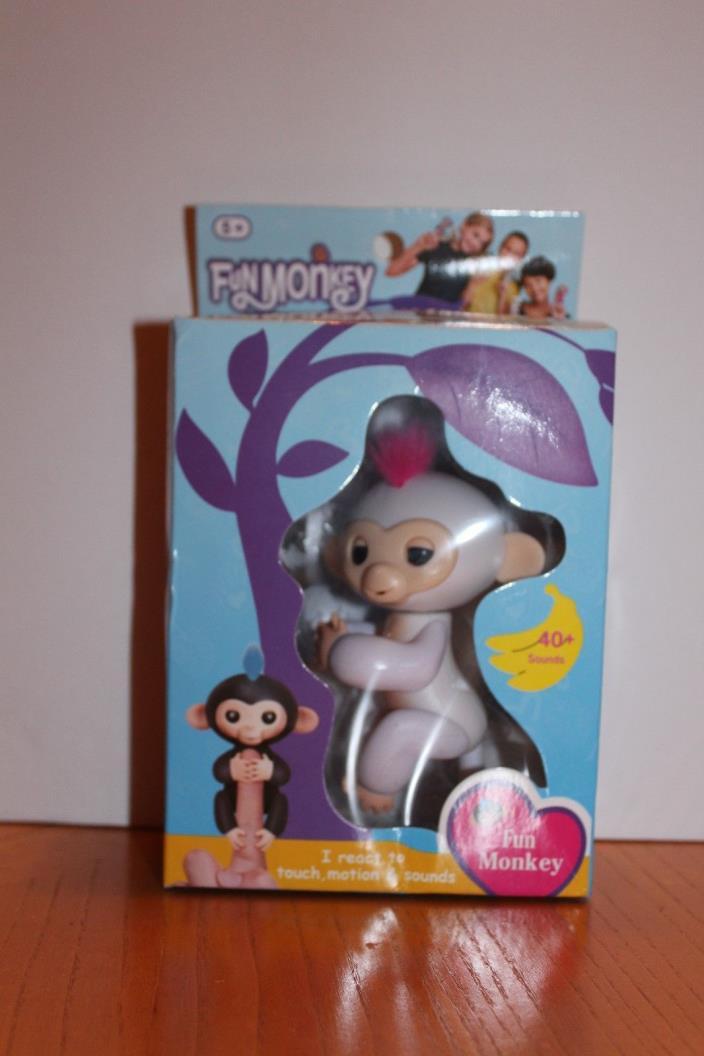 Creative Fun Interactive Baby Monkey Mini Smart Sensor Finger Monkey Toy