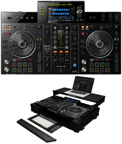 Pioneer XDJ-RX2 + Odyssey FZGSXDJRX2GTWBL Case Bundle Deal