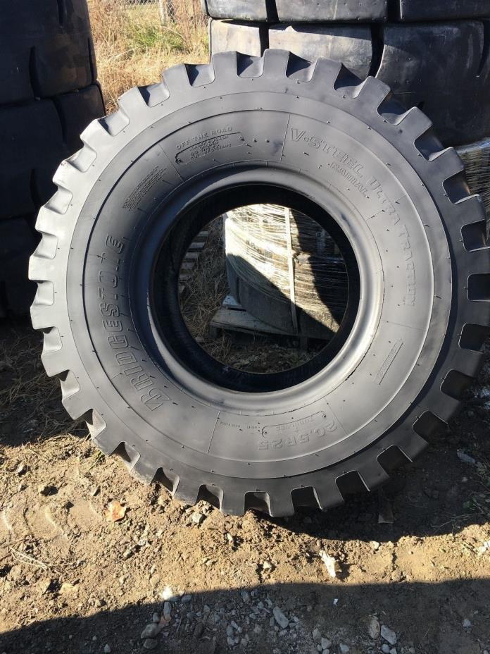 20.5R25 Bridgestone VUT CLEAN USED 18/32