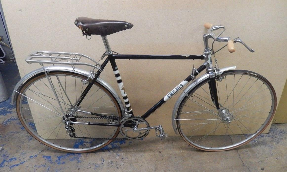 1960's FREJUS city bike made in ITALY Campagnolo Lyotard 52 chrome lugged steel
