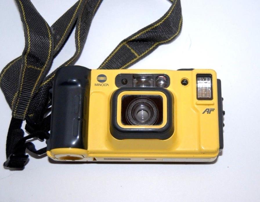 Minolta Weathermatic Dual 35 Underwater AF Camera