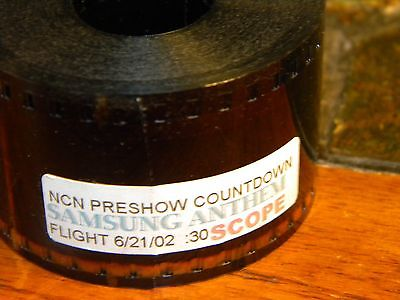 35mm Film Movie Trailer NCN Preshow Countdown Samsung Anthem