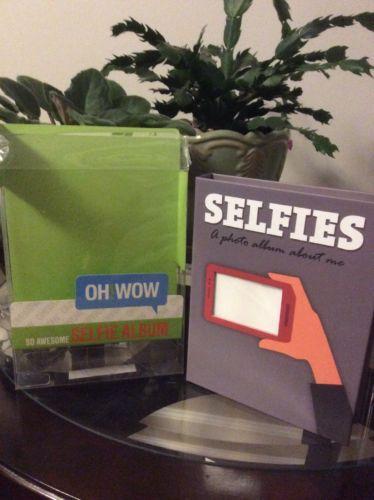 Selfies 32 Photo Album  Phone Pictures New in Plastic Box
