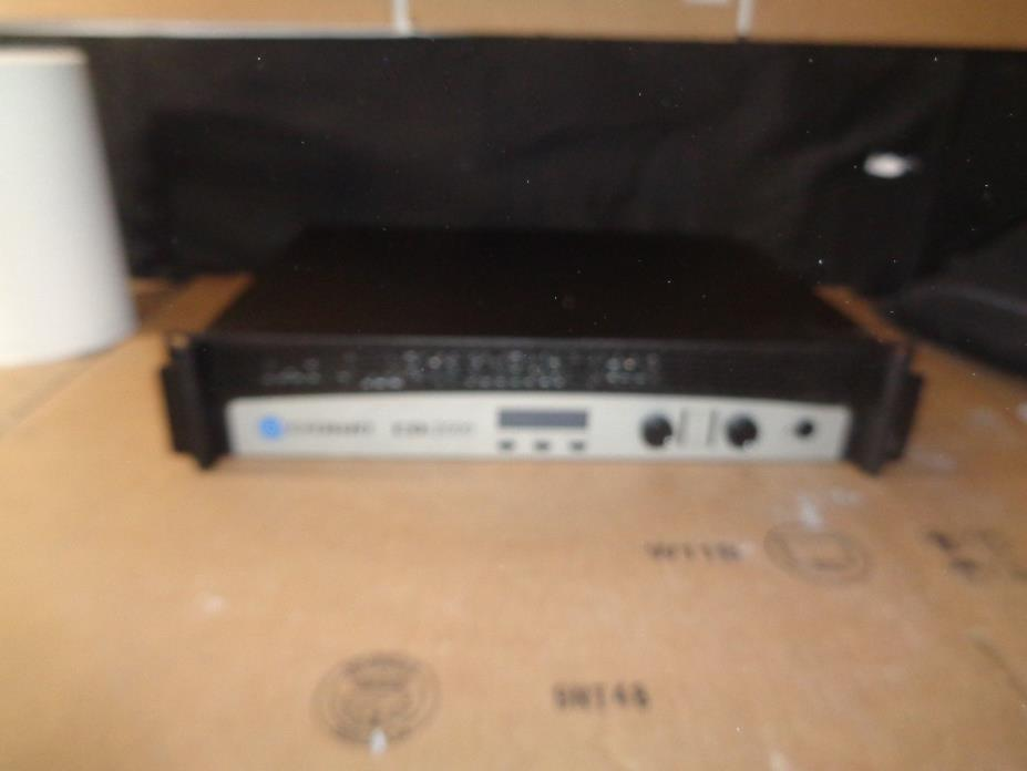 CROWN CDI 2000 RACK MOUNT SOLID-STATE 2-CHANNEL POWER AMP **WON'T POWER ON