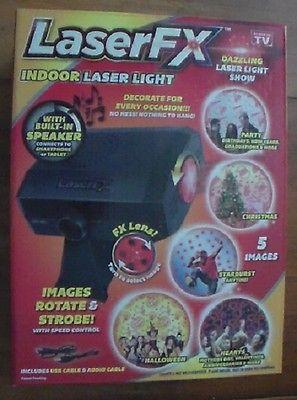 Decorative Laser Light with Built-In Speaker - Laser FX - Indoor - LP10006TD