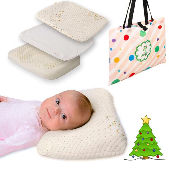 Baby Pillow For Sleeping - Great Head And Neck Support for Your Child, Prevent F