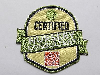 home depot collectibles returnns cashier certified patch