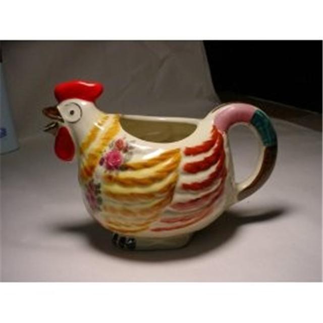 Ceramic Hen Milk Pitcher