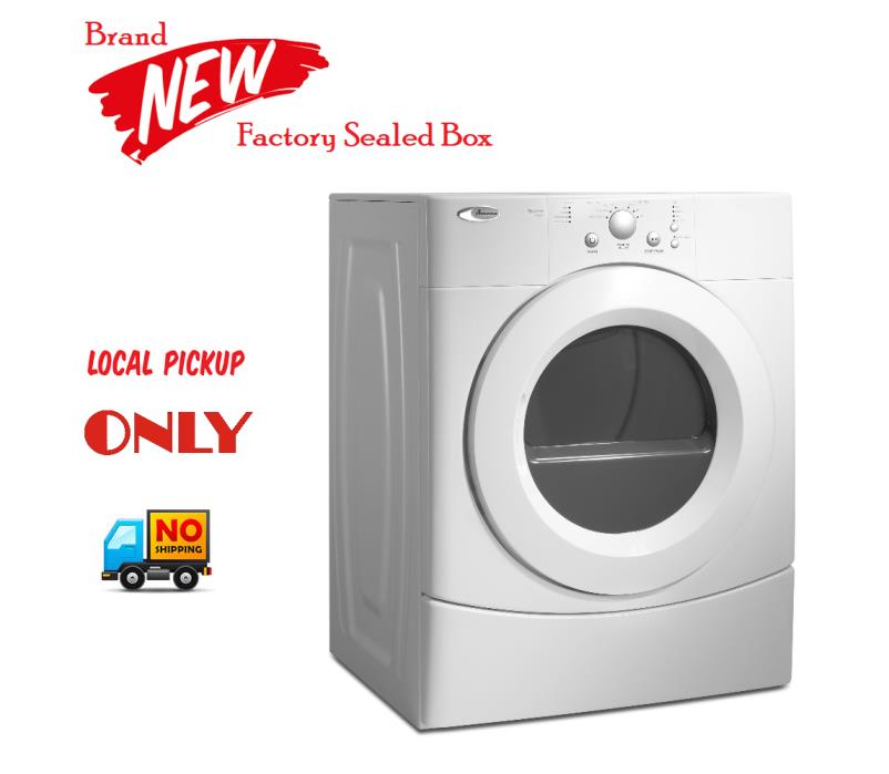 Amana 6.7cf. Super Capacity Electric Dryer,NED7300WW, White - LOCAL PICK UP ONLY