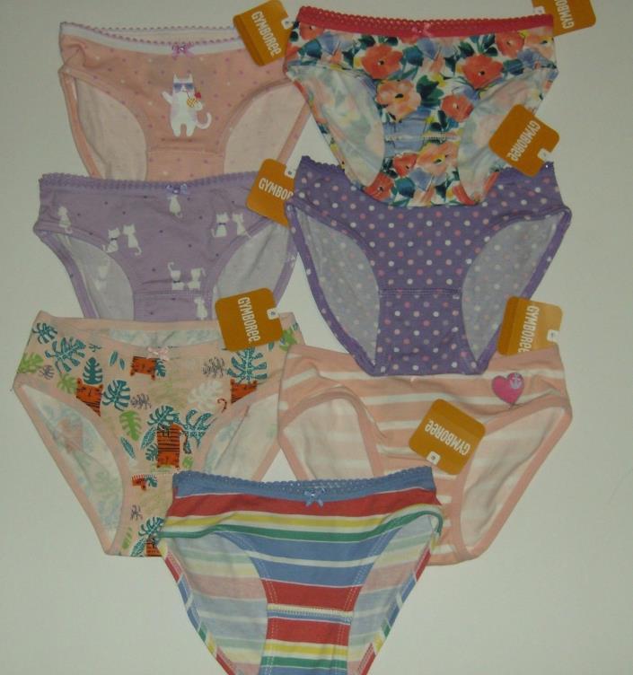 NWT *Lot 7 Gymboree Girls Panties Underwear* Size: 2..Assorted...Cute!