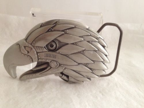 Eagle 3D Pewter Belt Buckle. Free Shipping