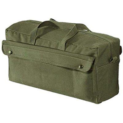 Canvas Jumbo Tool Bags Mechanic Bag, Olive Drab