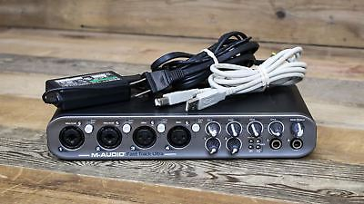 Used M-Audio Fast Track Ultra w/PSU - USB Audio Interface U086983