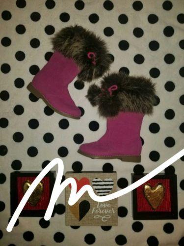 Gymboree fusia boots nwt size 10