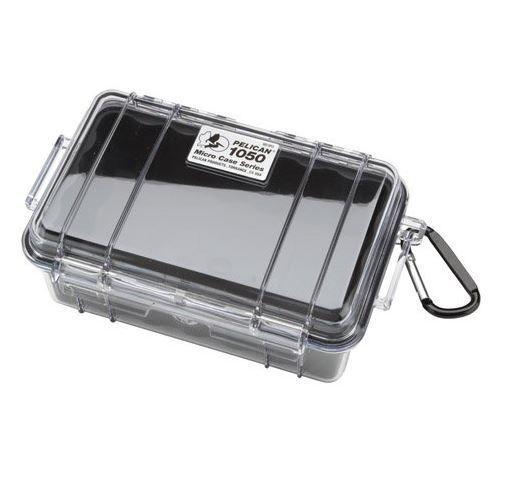 Pelican 1050 Micro Dry Case /Snorkelers/Kayakers w/clear lid